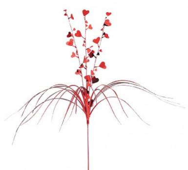 Decorazione a fiore con cuori per San Valentino
