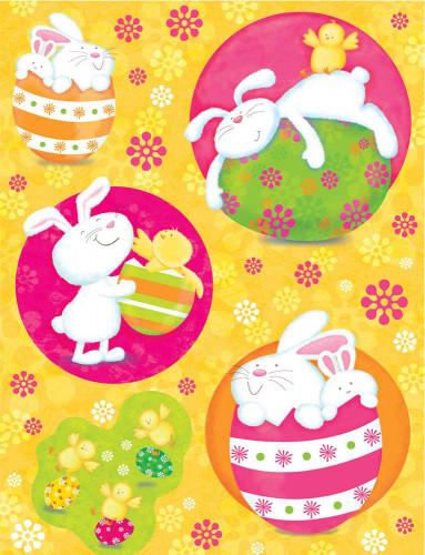 5 decorazioni per finestre Pasqua