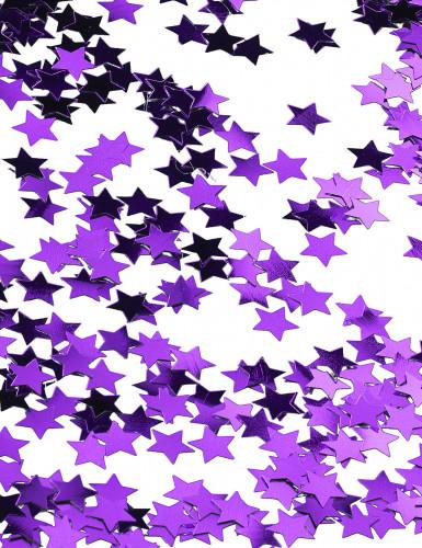 Stelline metalliche viola Natale