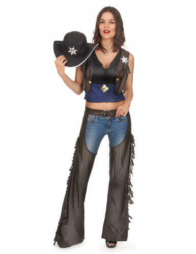 Completo sexy cowgirl Texas donna