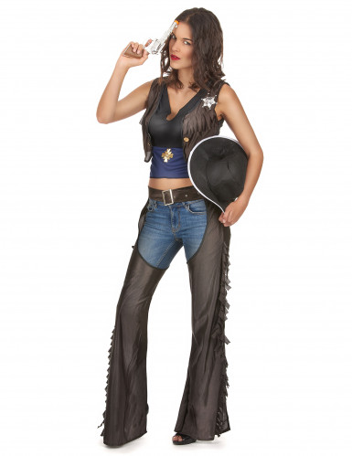 Completo sexy cowgirl Texas donna-1