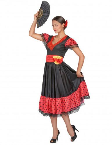 Costume per donna danzatrice Flamenco-1