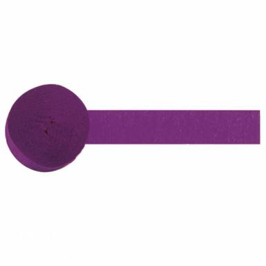 Rotolo di carta crespa viola