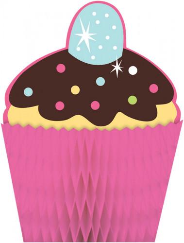 Centro tavola Cupcake Compleanno