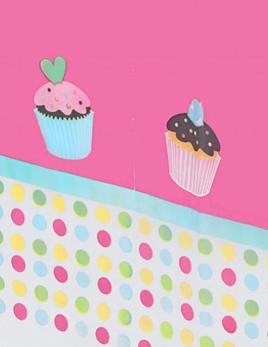 Tovaglia di plastica Cupcakes-1