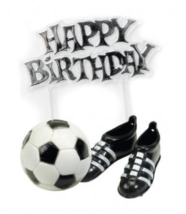 Decorazioni di compleanno a tema calcio