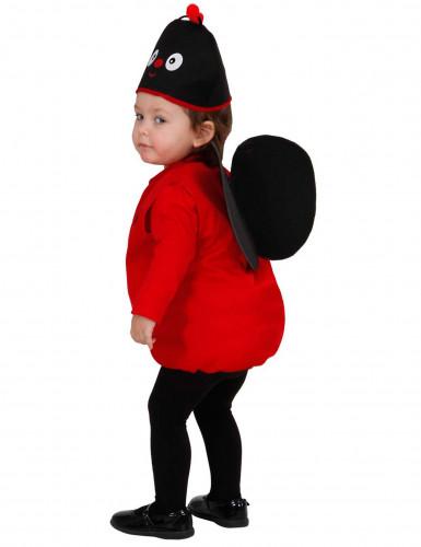 Costume per bambina da coccinella-1
