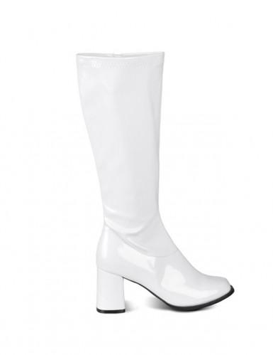 Stivali bianco intenso per donna