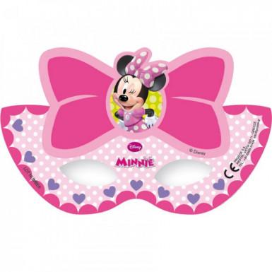 6 maschere di cartone Minnie Bow-Tique™