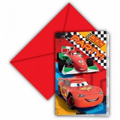 6 inviti in cartone Cars RSN™
