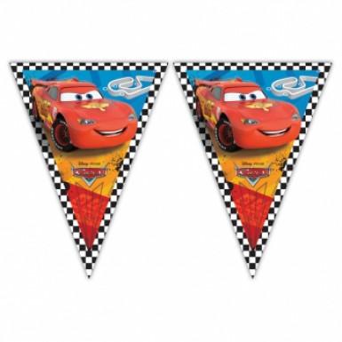 Festone con bandierine in plastica Cars™