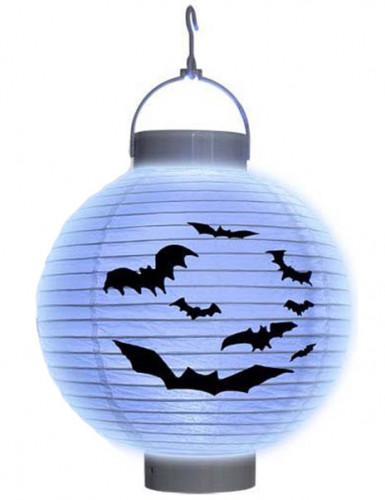 Lanterna lucente con pipistrelli per Halloween