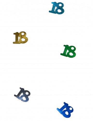 Coriandoli multicolore da tavola 18