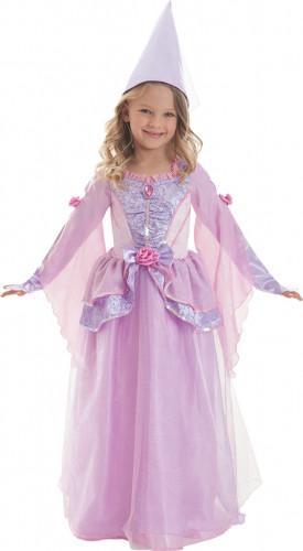 Costume da principessa per bambina rosa e lilla