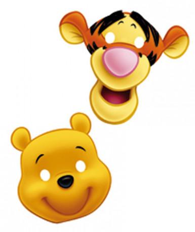6 maschere Winnie The Pooh™
