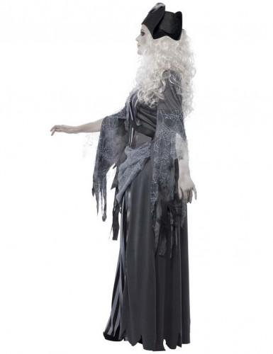 Costume Pirata Fantasma Halloween da donna-1