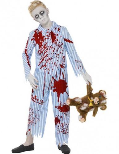 Costume da zombie bambino in pigiama