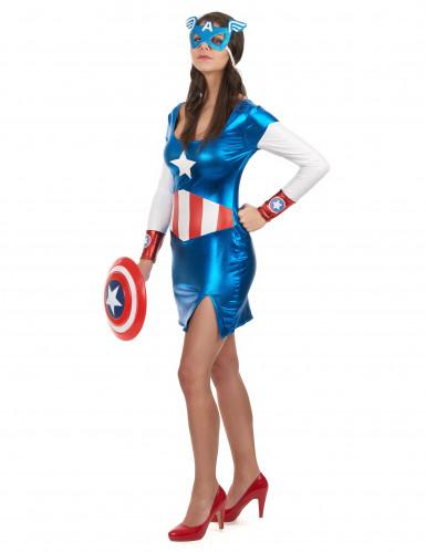 Costume da sexy Capitan Girl per donna-1