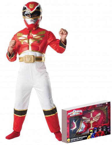 Costume originale da Power Ranger Megaforce™ rosso per bambino