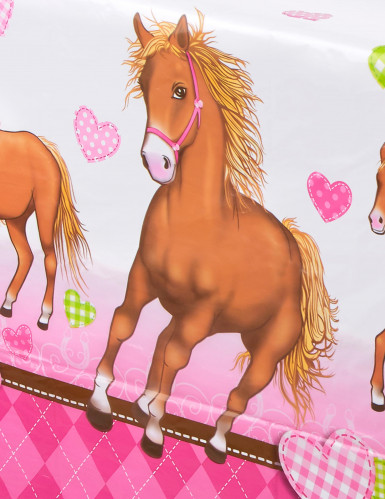 Tovaglia in plastica Cavallo-1