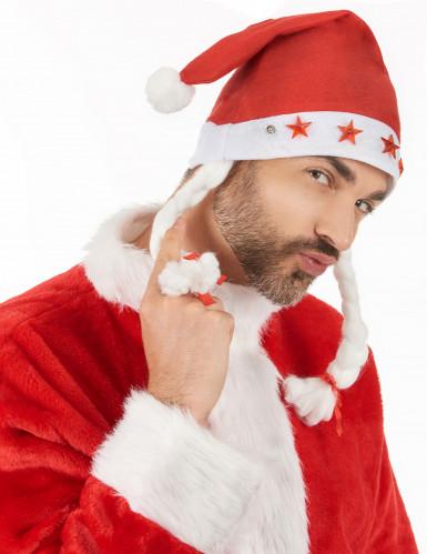 Cappello luminoso di Natale per adulto-2