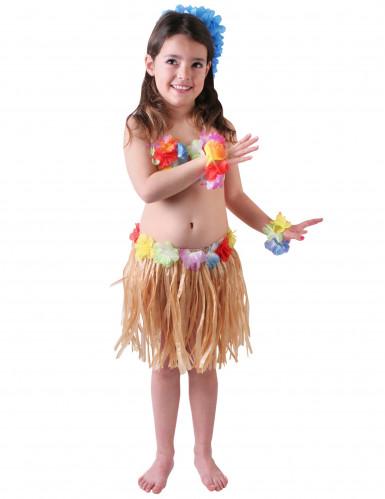 Vestito hawaiana bambina