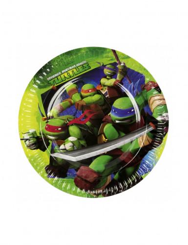 8 piatti delle Tartarughe Ninja™