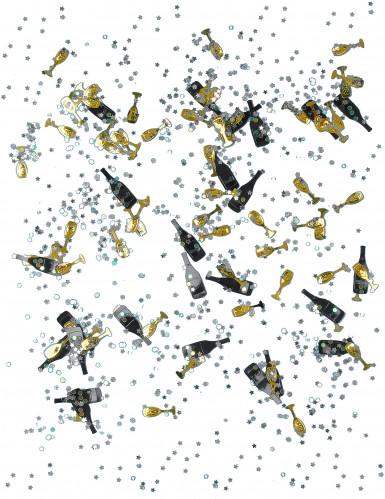Coriandoli neri e oro per Capodanno-1