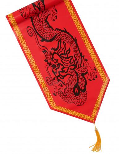 Runner da tavola decorato con dragone cinese