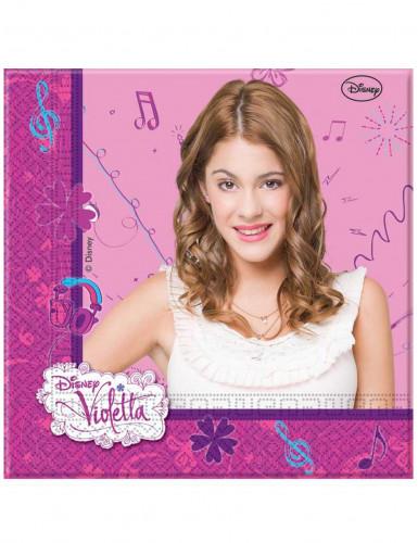 Confezione da 20 Tovaglioli di carta di Violetta™