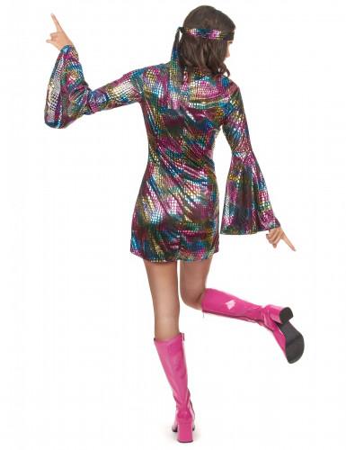 Costume da donna adulta discoteca anni '70-2