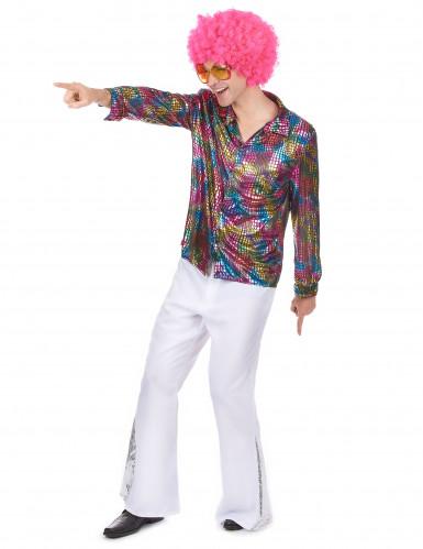 camicia per uomo in tema Disco-1
