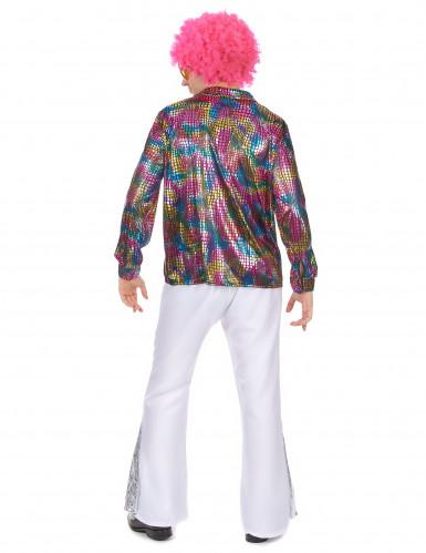 camicia per uomo in tema Disco-2