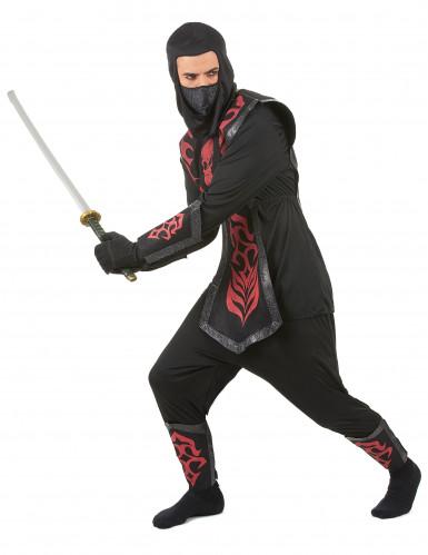 Travestimento ninja adulto