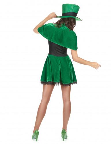 Costume da folletto di San Patrizio per donna-2