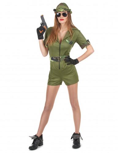 Costume da militare per donna