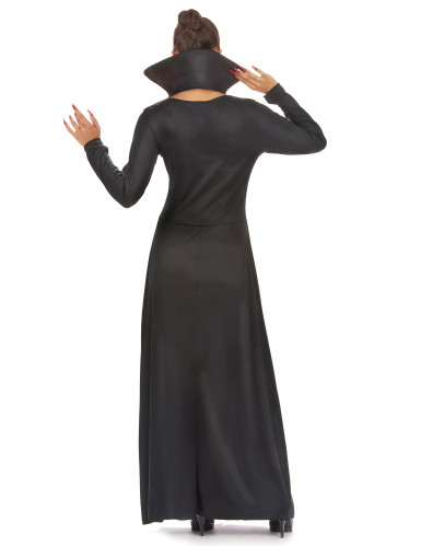 Costume da donna vampiro per Halloween-2