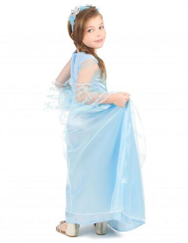 Costume principessa azzurra per bambina-2