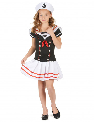 Completo marinaio bambina