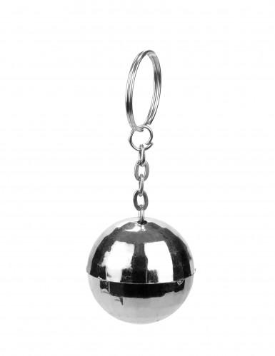 Portachiavi a forma di palla disco