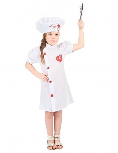 Costume per bambina da cuoca