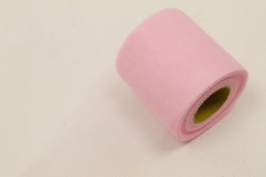 Rotolo di tulle rosa 20 metri
