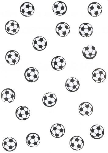 150 coriandoli per la tavola con pallone da calcio-1