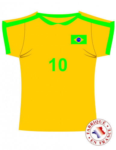 Maglietta decorativa Brasile