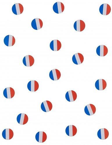 Coriandoli da tavola con bandiera della Francia-1