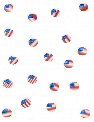 150 coriandoli da tavola con la bandiera USA-1