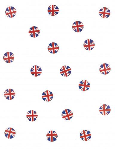 150 coriandoli da tavola bandiera UK-1