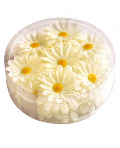 20 fiori margherita sintetici