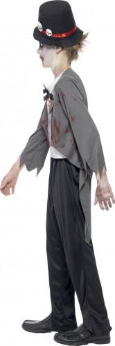 Costume Halloween da zombie sposo per bambino-1