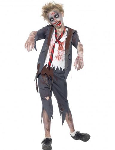 Costume per ragazzo studente zombie